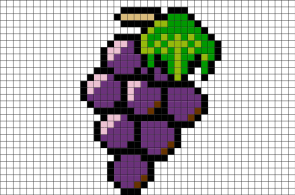 grapes-pixel-art-pixel-art-grapes-fruit-food-berry-delicious-pixel-8bit