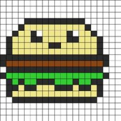 hamburger_perler_bead_pattern
