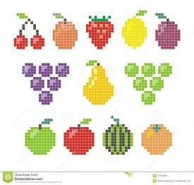 pixel-fruit-icons-18751889