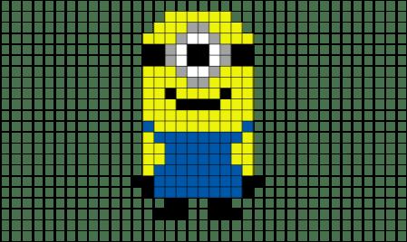 pixel-minion-pixel-art-lego-8bit-minecraft