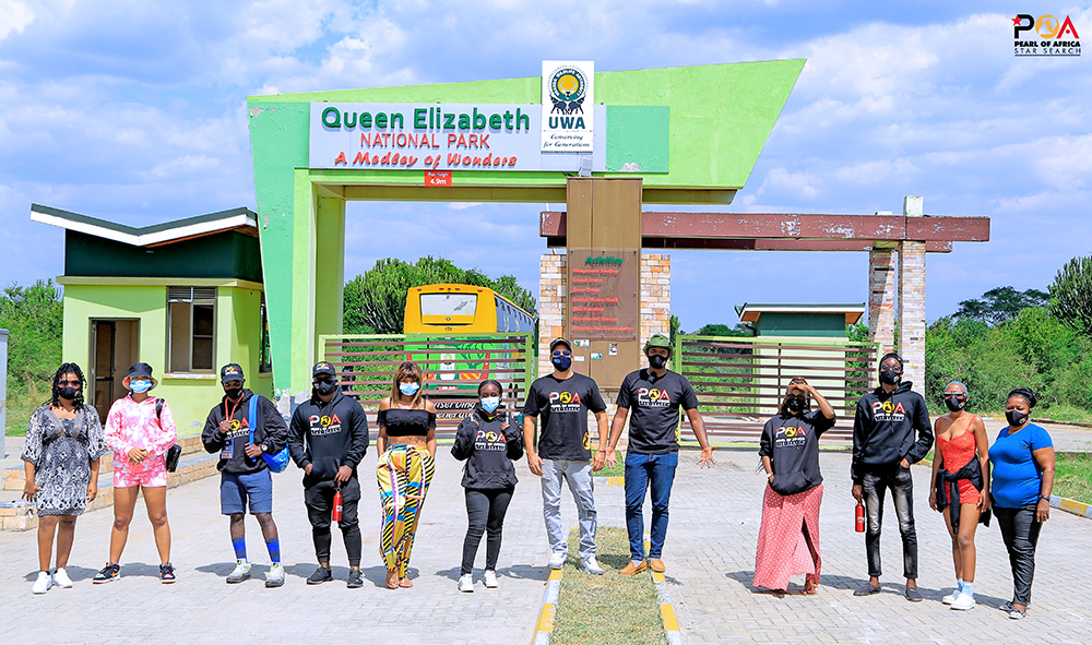 Talent Africa's Pearl Of Africa Star Search Birthes Joint EP Between Contestants & Mentors 2 MUGIBSON