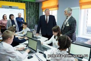 В.Д. Волков посетил в Саранске новый региональный Центр обучения талантливых детей