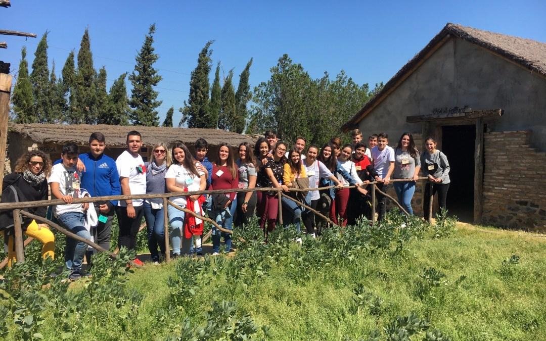 El IES Saltes de Punta Umbría repite visita al Poblado Tartésico de Gibraleón con sus alumnos de 3 de ESO