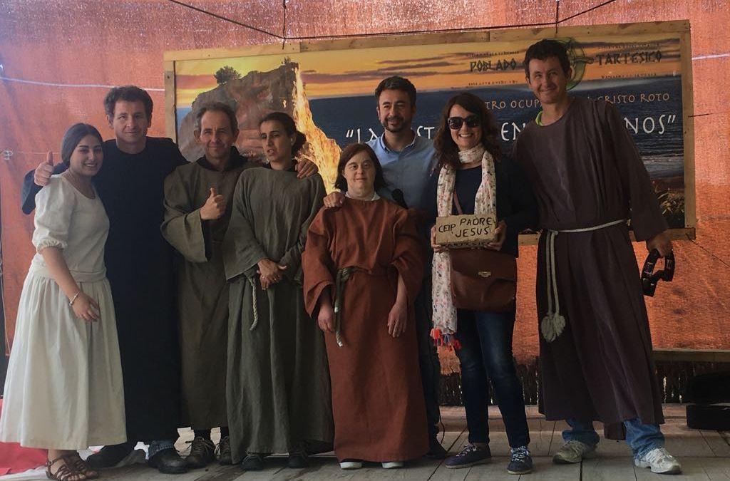 El CEIP Padre Jesús de Ayamonte disfruta de la alegre visita al Poblado Tartésico de Gibraleón
