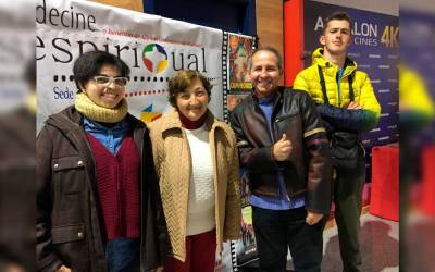 'Poblado Tartésico', de Obras Cristianas, presenta la promo de su actividad en la II Semana de Cine Espiritual de Huelva