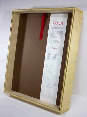 psalm box and colophon
