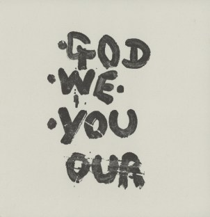 god we you our slip sleeve front