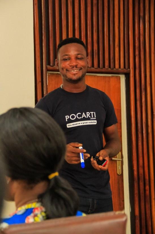 Pocarti Social Media Marketing Training at Wave Academy - September 21, 2018