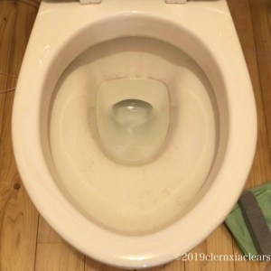 便器の尿石や水垢を落とす方法!水がたまっているところは黒く汚れやすい