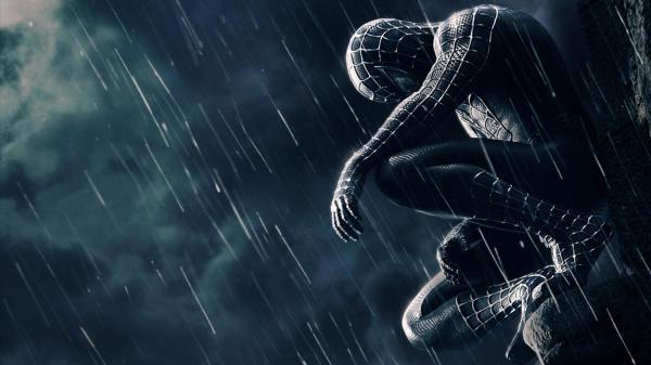 spiderman sad