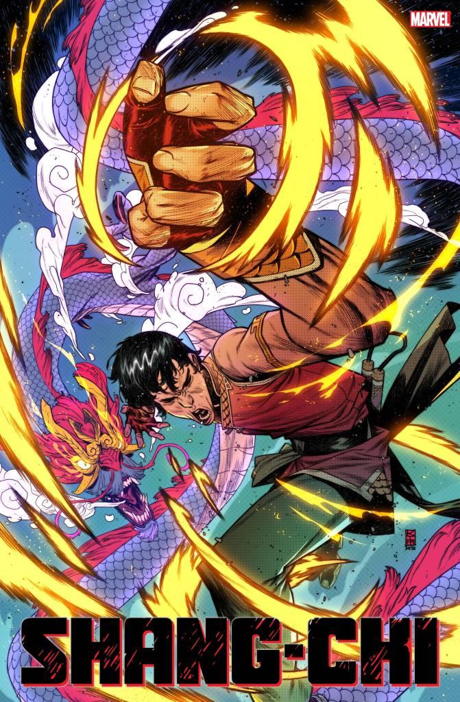 Shang-Chi #1 Kim Jacinto Variant Cover