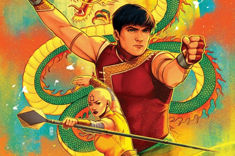 Shang Chi #1 Variant Cover by Jen Bartel