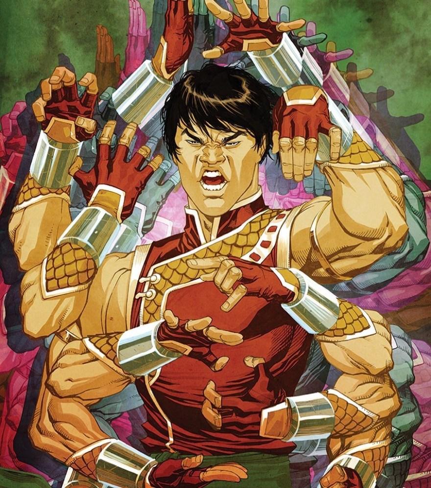 Shang-Chi #1 Bernard Chang Variant Cover