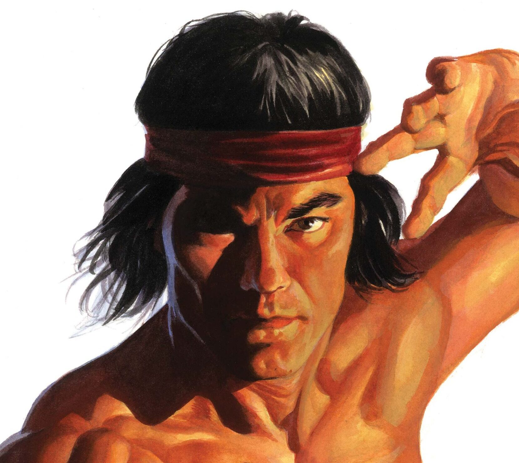 Shang Chi Alex Ross Cover