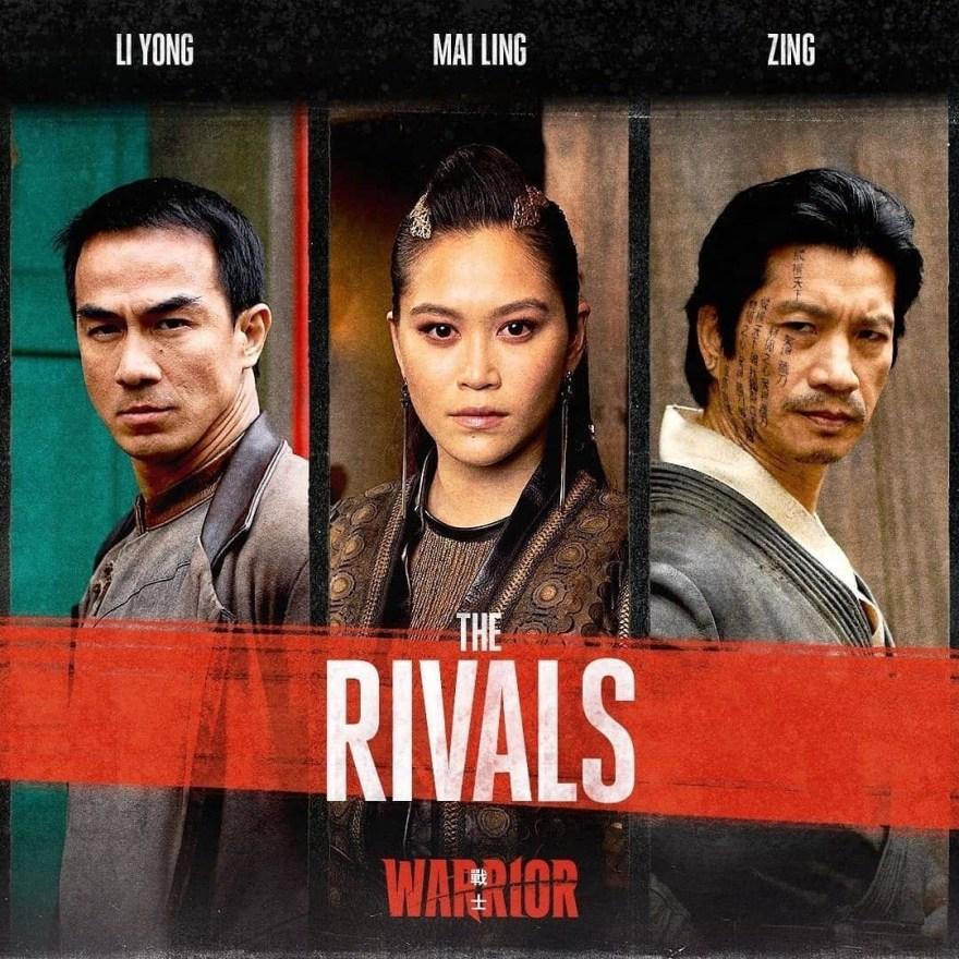 Rival Tongs