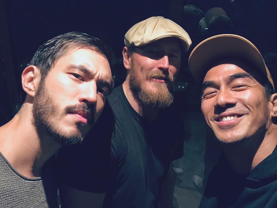 Andrew Koji Dean Jagger and Joe Taslim