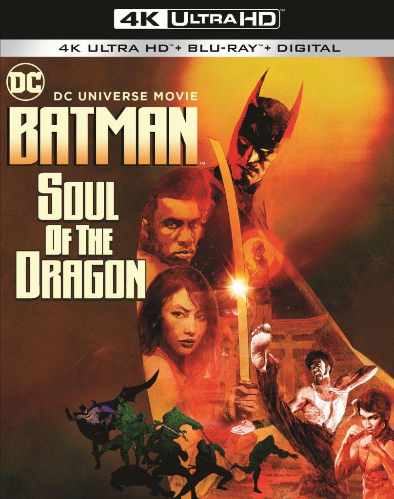 Batman: Soul of the Dragon 4K Art