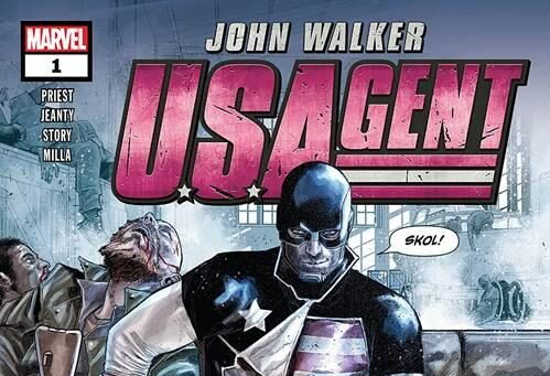Cover of U.S.Agent #1