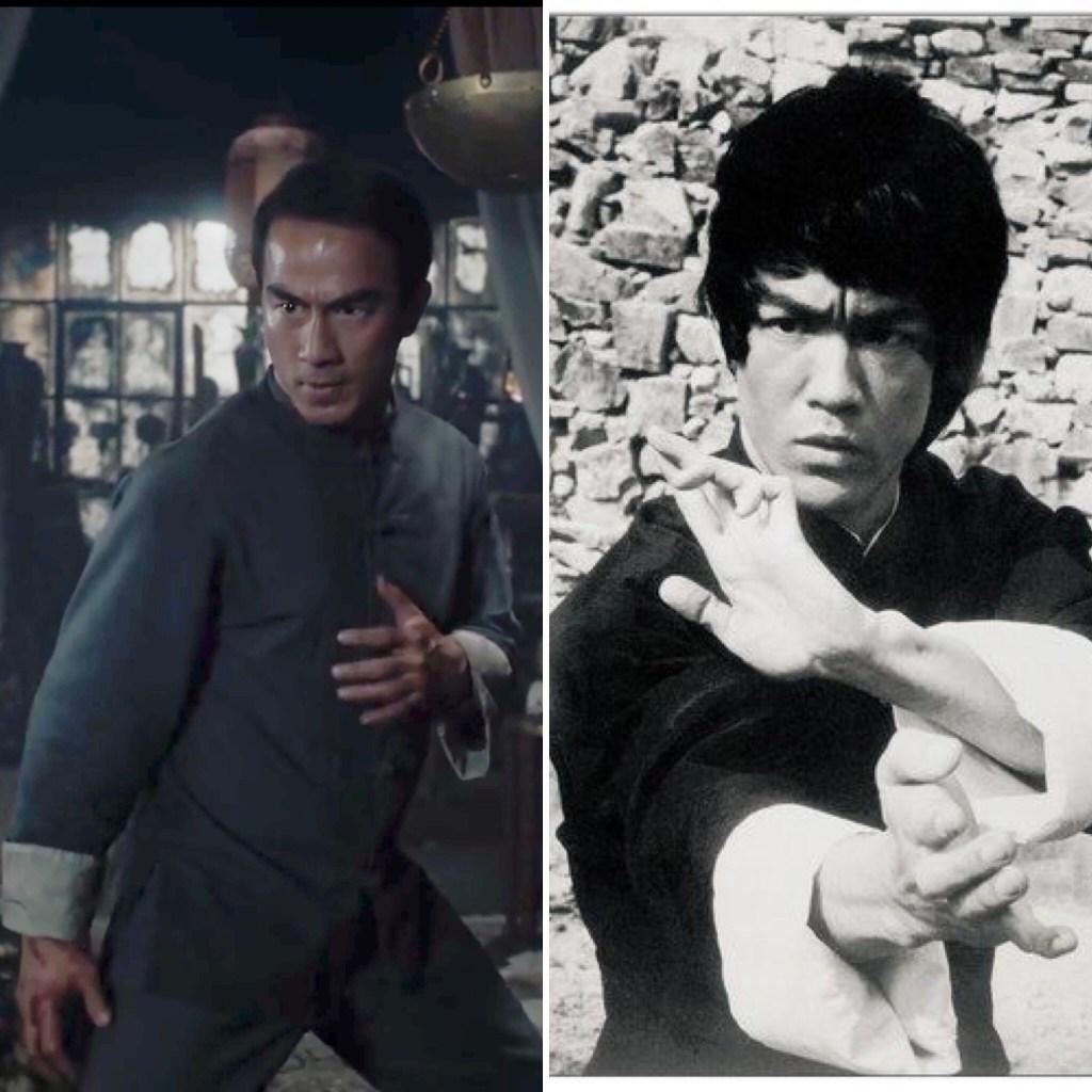 Joe Taslim and Bruce Lee