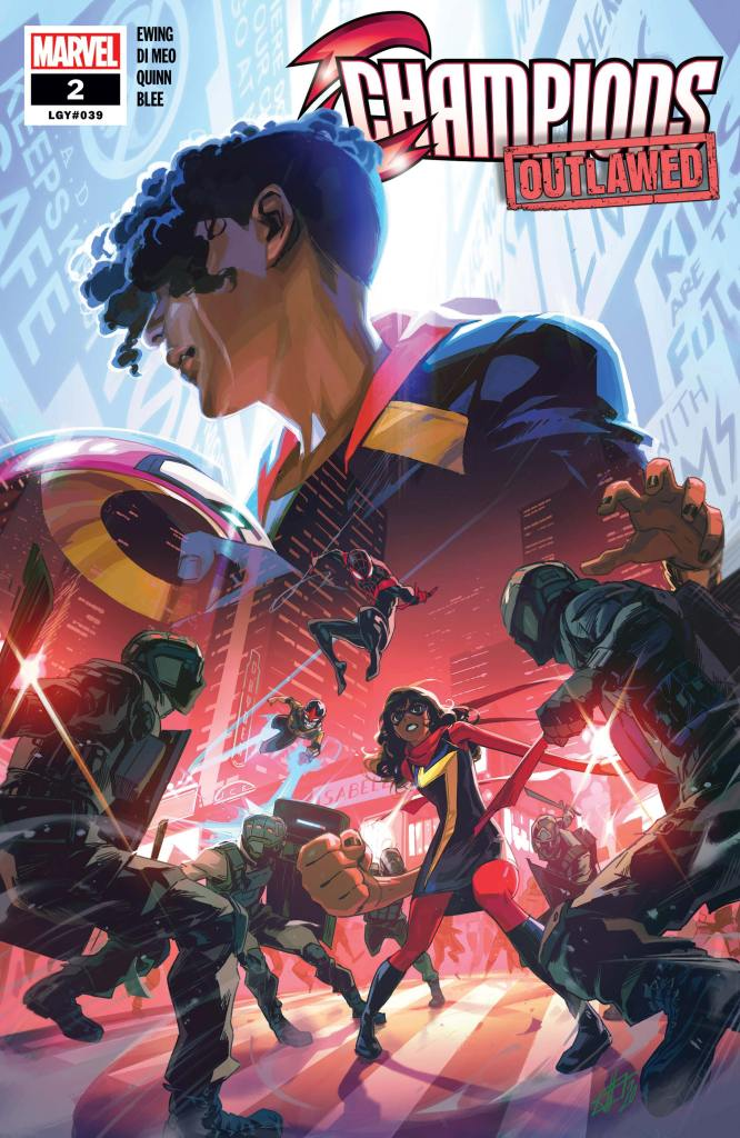 Cover for Champions #2