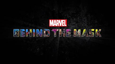 Marvel's Behind the Mask Logo