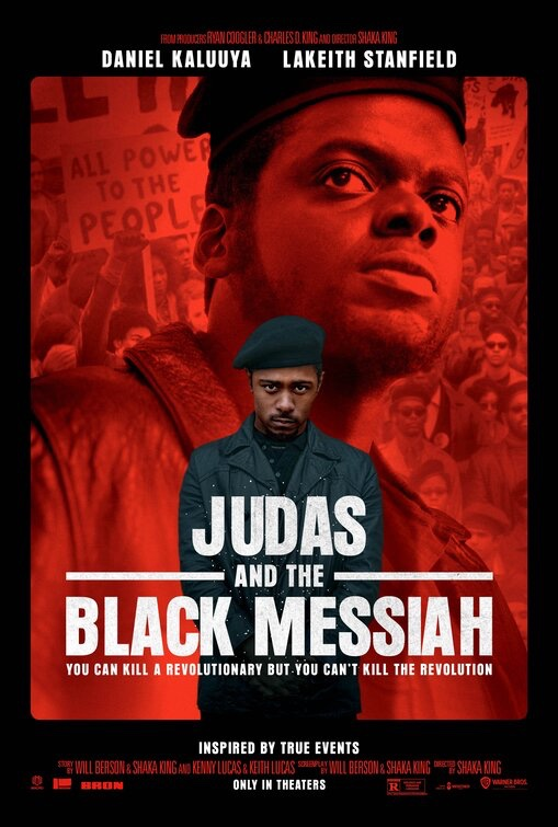 Theatrical Poster for Judas and the Black Messiah