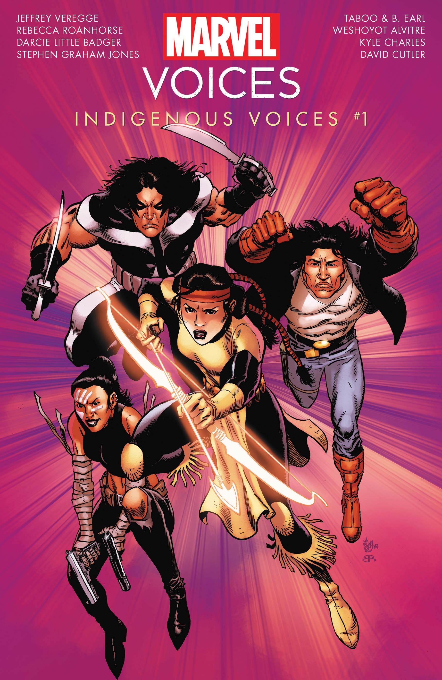 Marvel Comics Indigenous Voices #1 Cover by James Terry