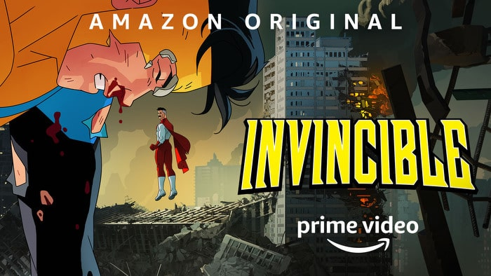 Amazon Studios' Invincible Key Art
