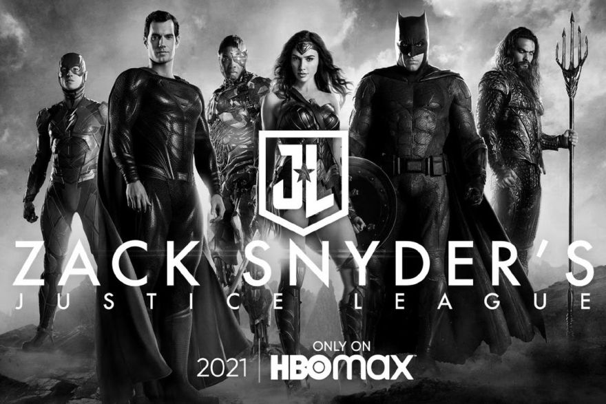 Zack Snyder's Justice League Team Shot