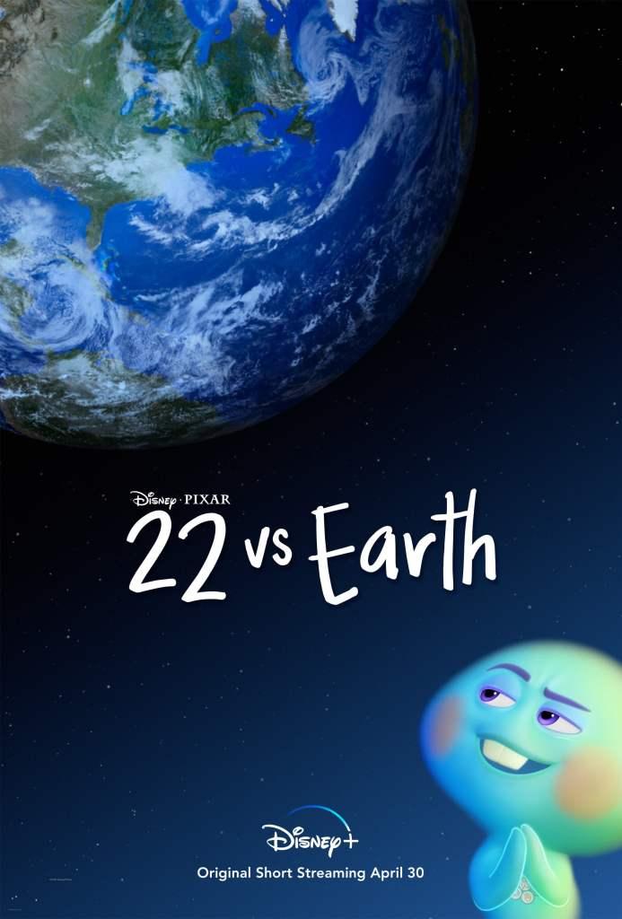 22 vs. Earth Key Art Credit: Disney