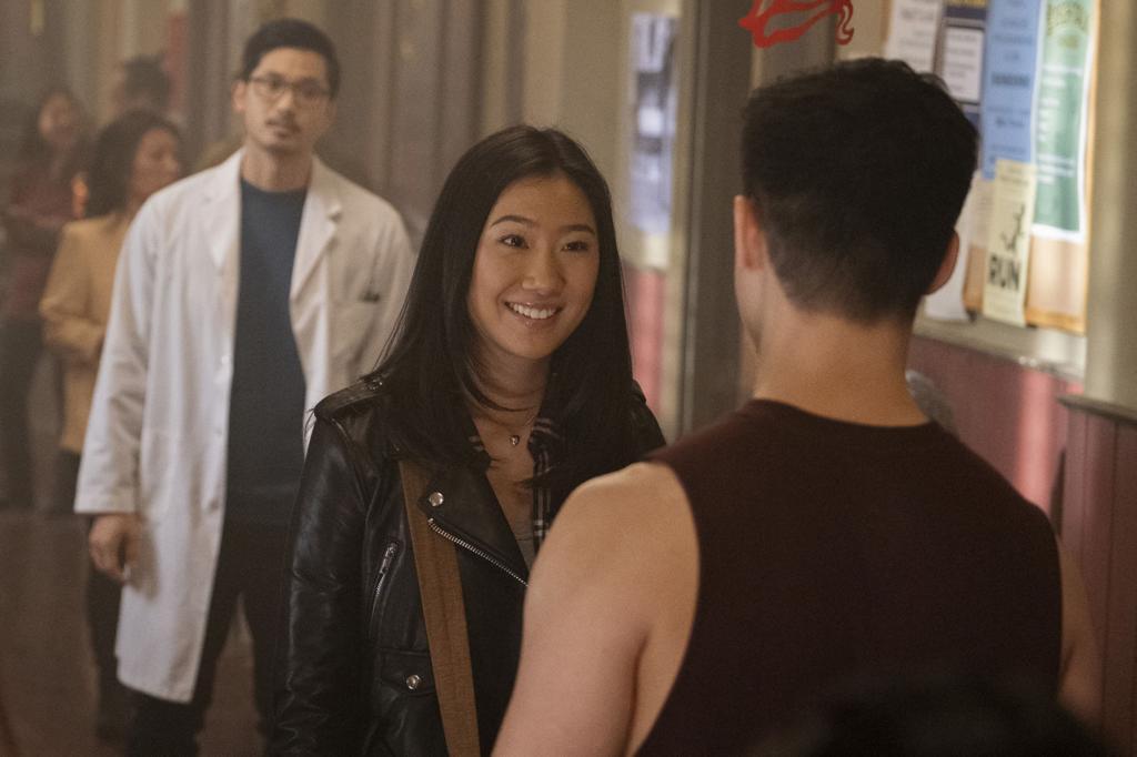 Nicky (Olivia Liang meets Henry Yan (Eddie Liu)