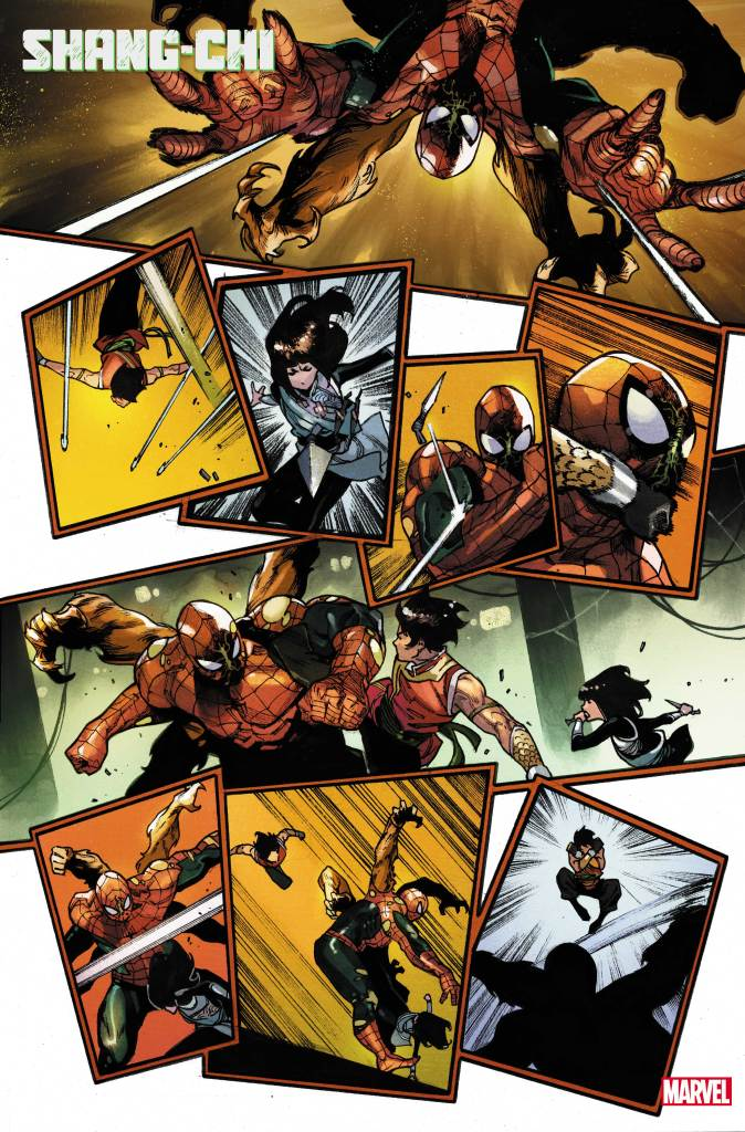 Shang-Chi Preview Page #2 Credit: Marvel