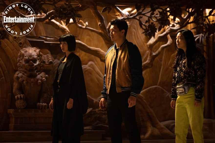 Shang Chi Katy and Xialing min