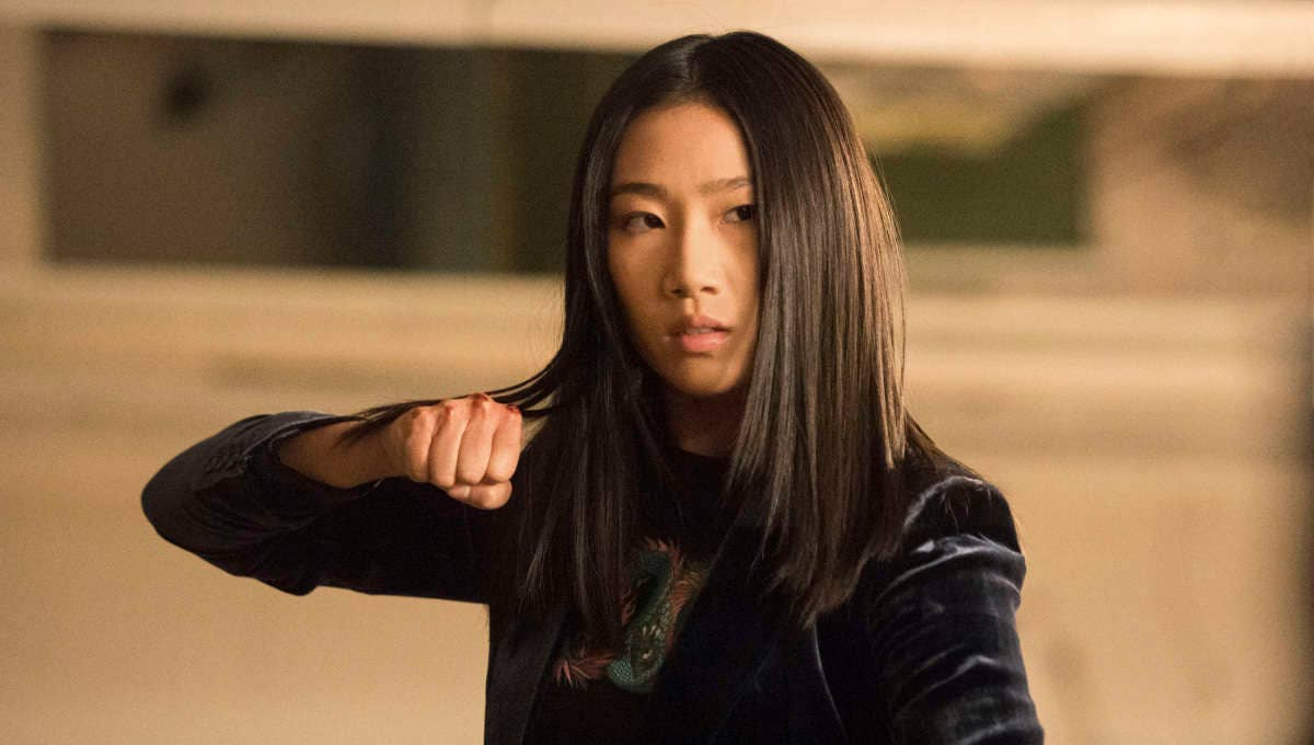 Olivia Liang as Nicky Shen