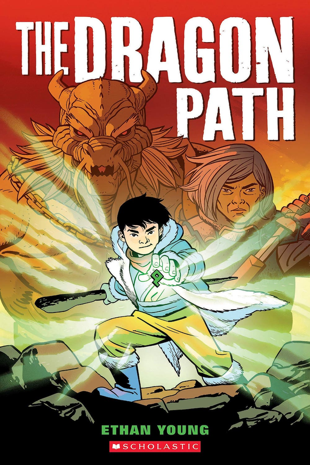 The Dragon Path Cover by Ethan Young