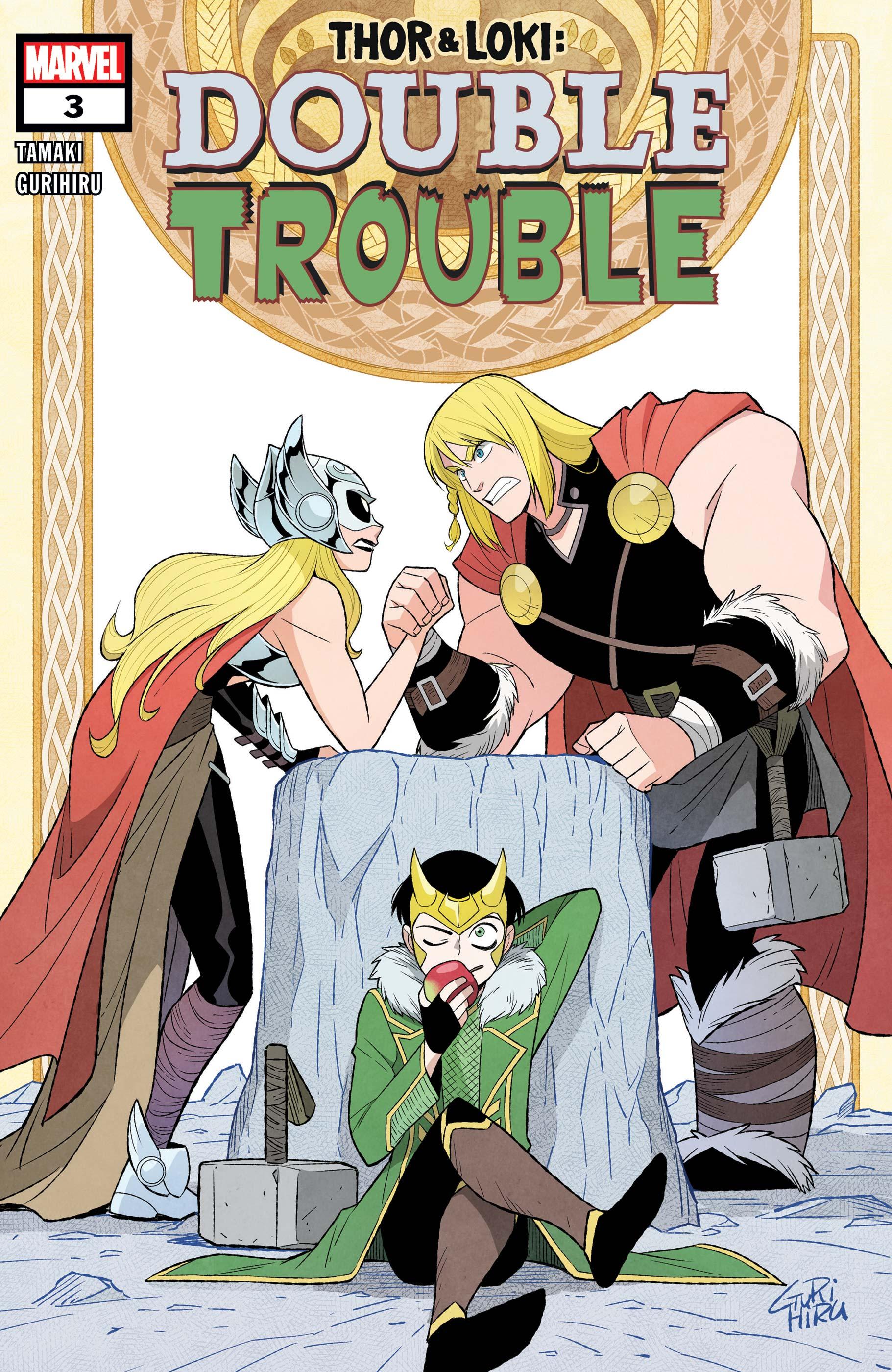 Thor & Loki: Double Trouble #3 Cover by G Gurihiru