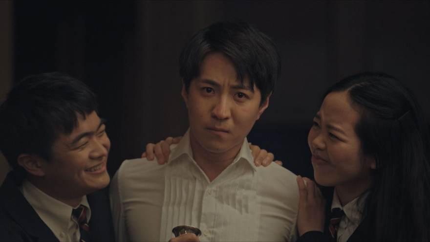 "(L-R): Ben Wang as Gang, Qi Sun as Xiaoyu and Briana Liu as Mei in Disney's ""LAUNCHPAD"" Season One short, ""DINNER IS SERVED,"" Directed by Hao Zheng, Written by G. Wilson & Hao Zheng. Photo courtesy of Disney. © 2021 Disney Enterprises, Inc. All Rights Reserved."