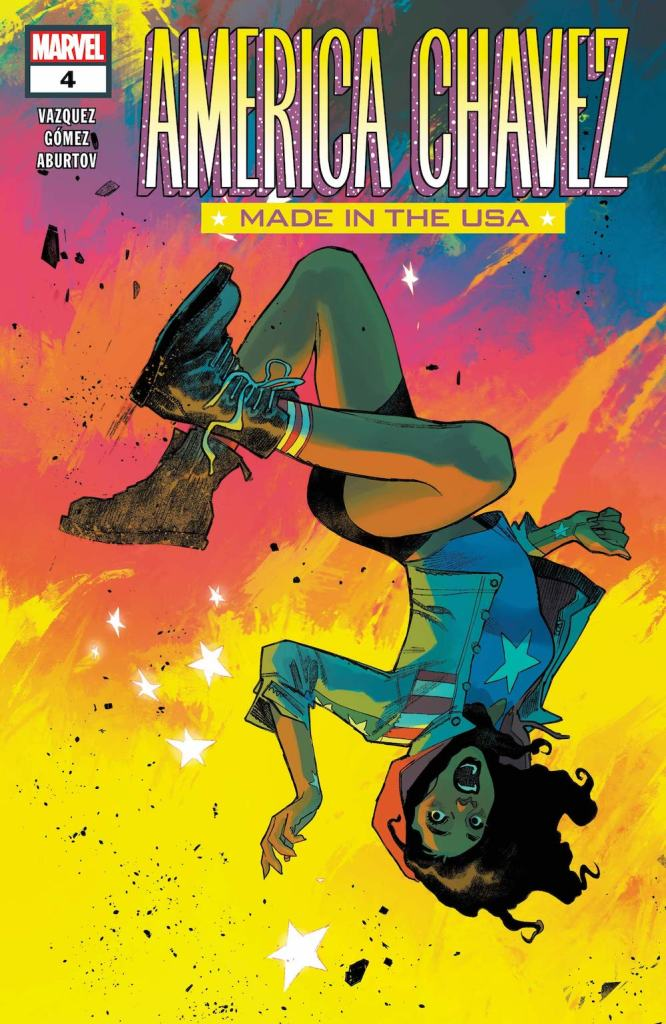 America Chavez: Made in the USA cover by Sara Pichelli