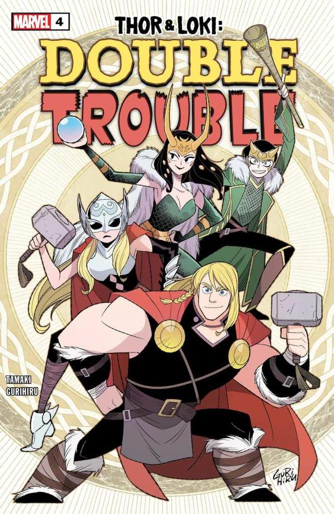 Thor & Loki: Double Trouble #4 Cover by G Gurihiru
