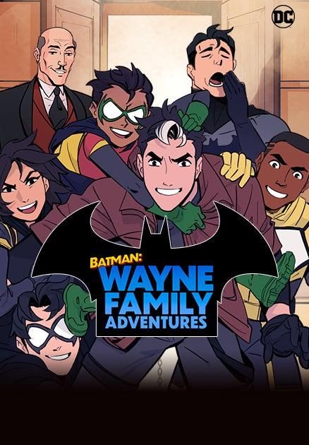 Batman: Wayne Family Adventures Animated Image from Webtoons
