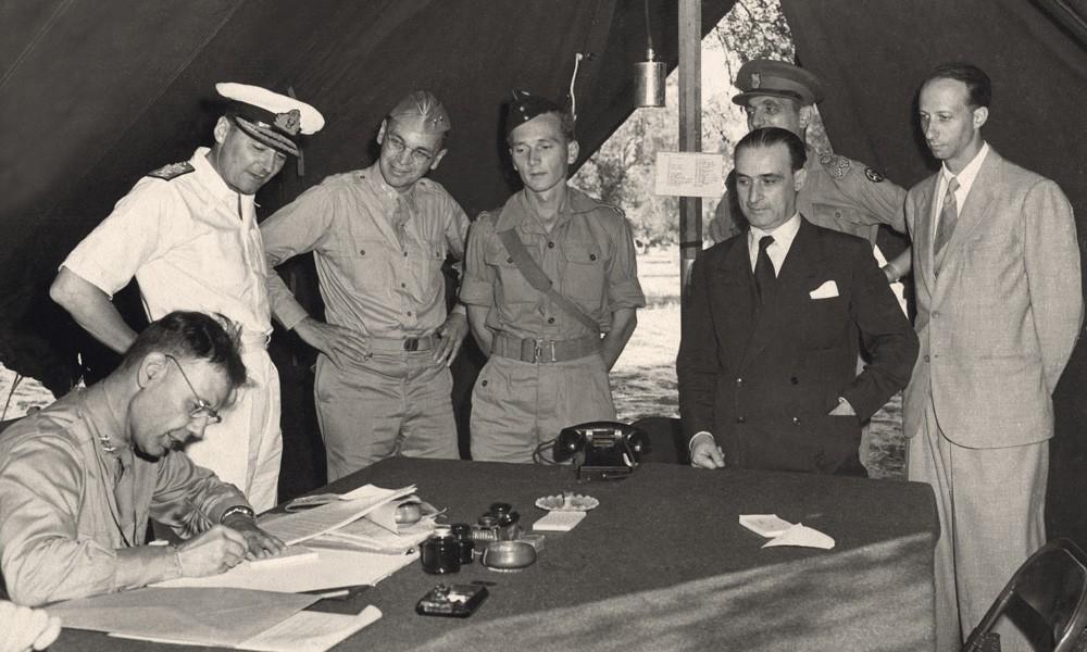 La verità sull'armistizio del 3 settembre a Cassibile   Poche Storie