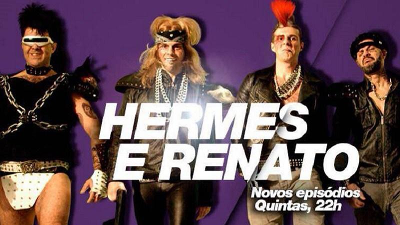 Hermes e Renato voltaram a TV no canal FX