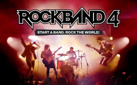 Rock Band 4 marca a volta dos jogos musicais