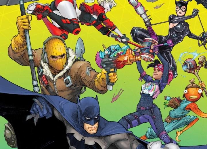 Review HQ   Batman/Fortnite: Ponto Zero