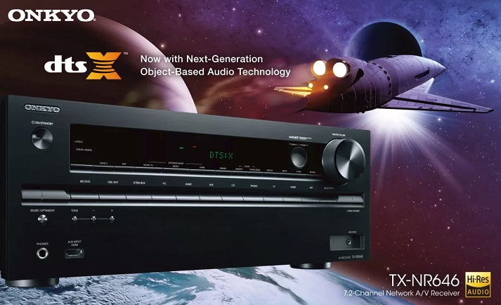 Review: Onkyo TX-NR646 7 2 Channel Receiver with DTS:X and Dolby Atmos |  Poc Network // Tech