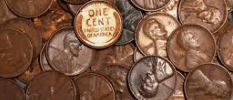 Hoarding pennies
