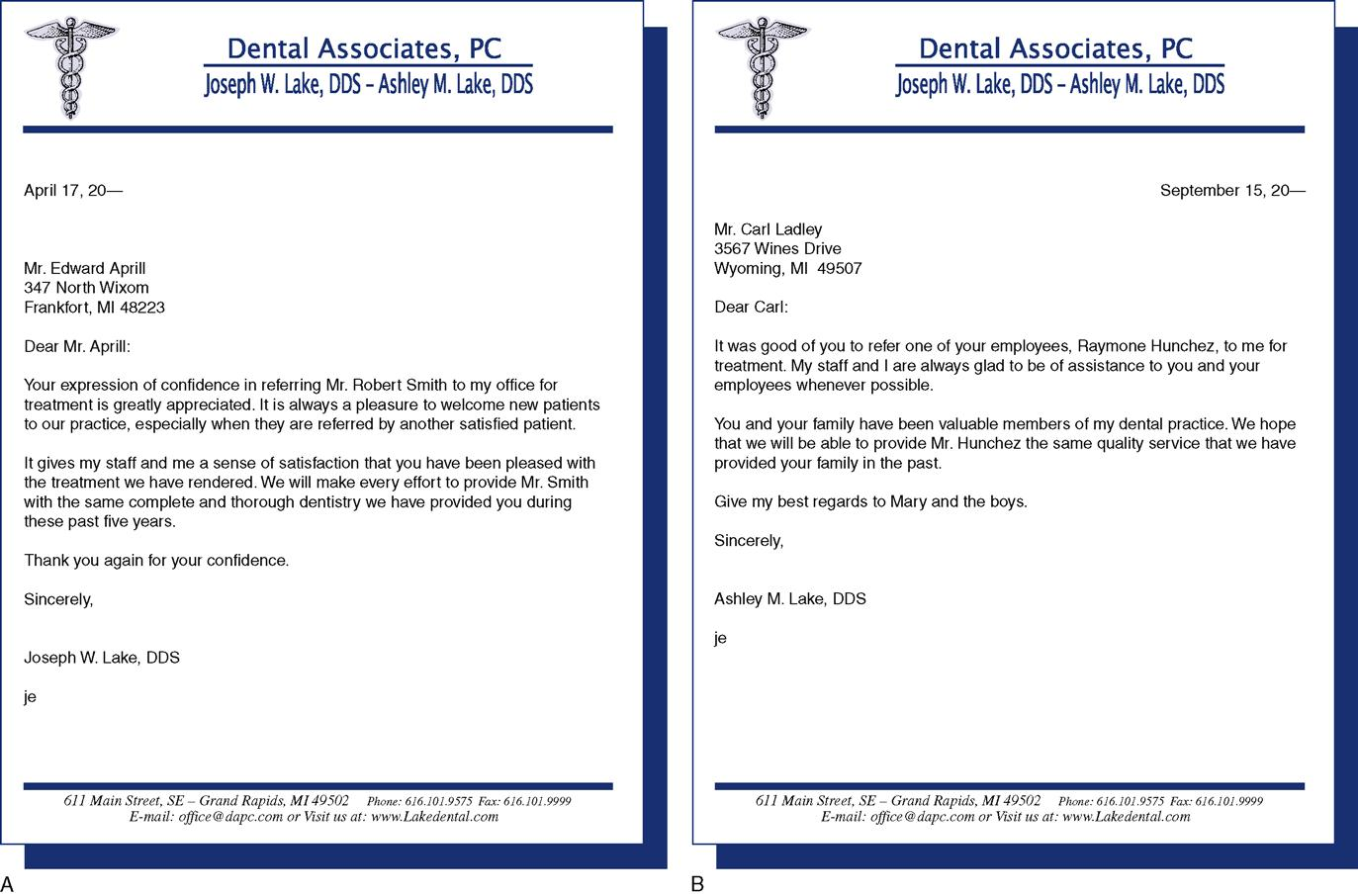 Patients Physician Sample Letters