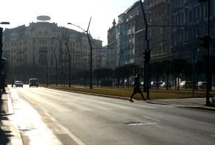 Morning light on Károly körút