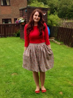 Tilly and the Buttons - Picnic Blanket Skirt Tutorial