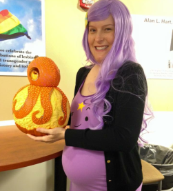 me and my prize-winning pumpkin 2015